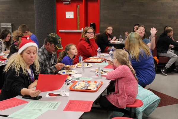 Fun at the Holiday Dinner Party!