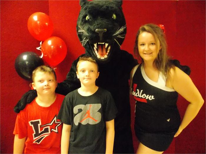 I Love Being a Ludlow Panther!