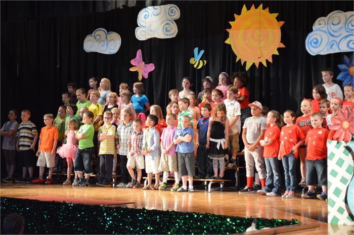 Our 2nd Graders Celebrate May!