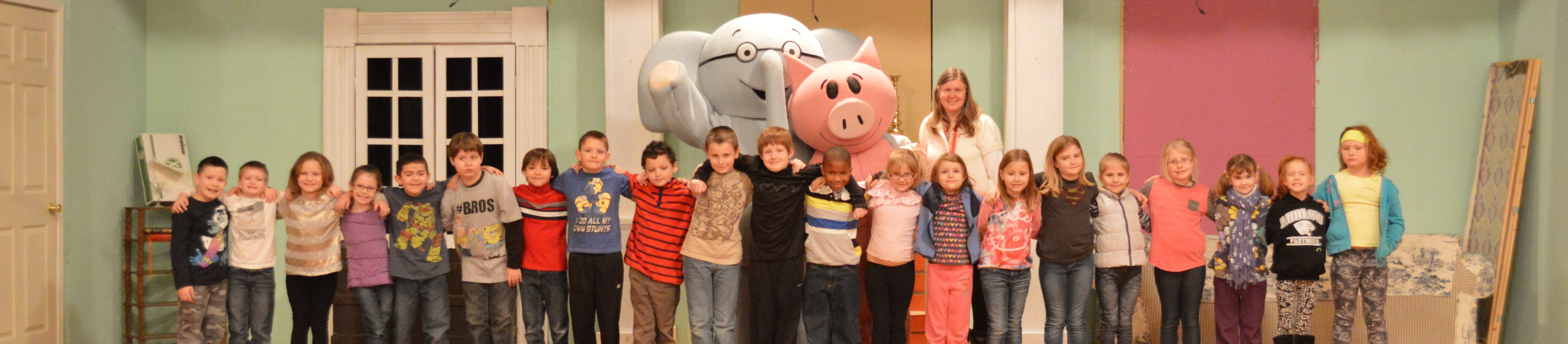 Elephant & Piggie visited our school!