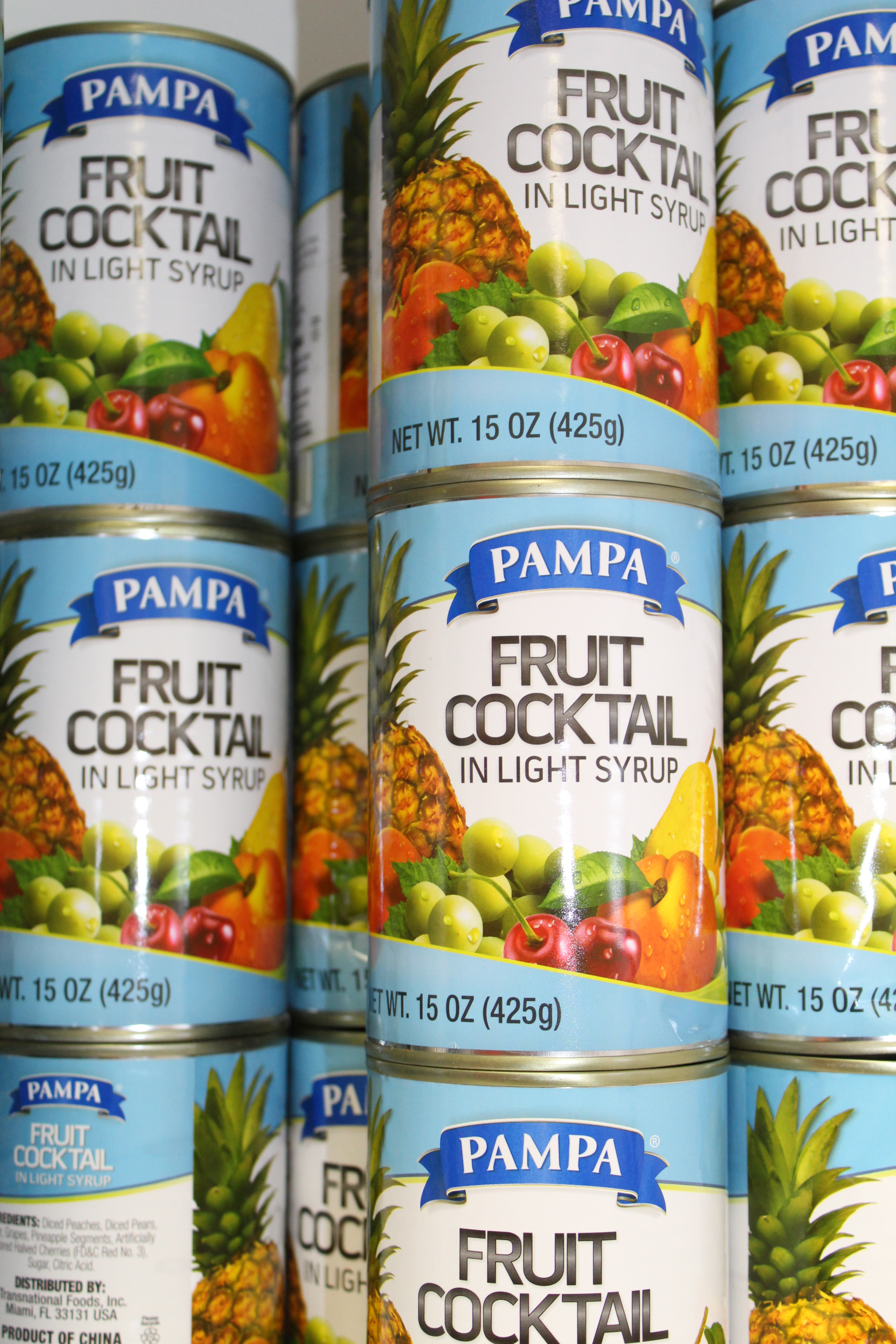 Canned Fruit Available